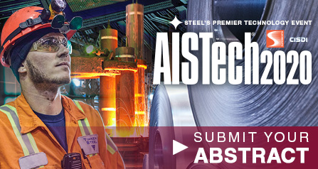 Abstracts for AISTech 2020 are due 15 August 2019
